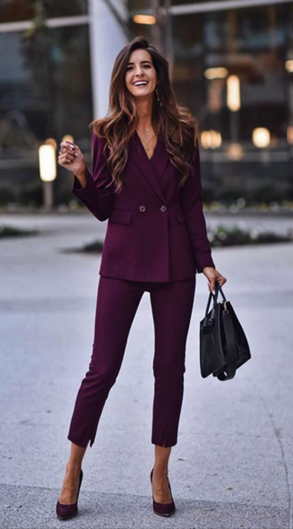 75 Formal Business Attires with Trousers for Women #womensbusinessattire