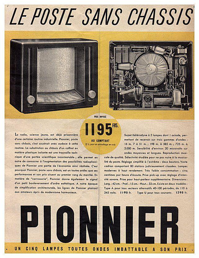 "Philips V4A ""Pionnier"" advert"