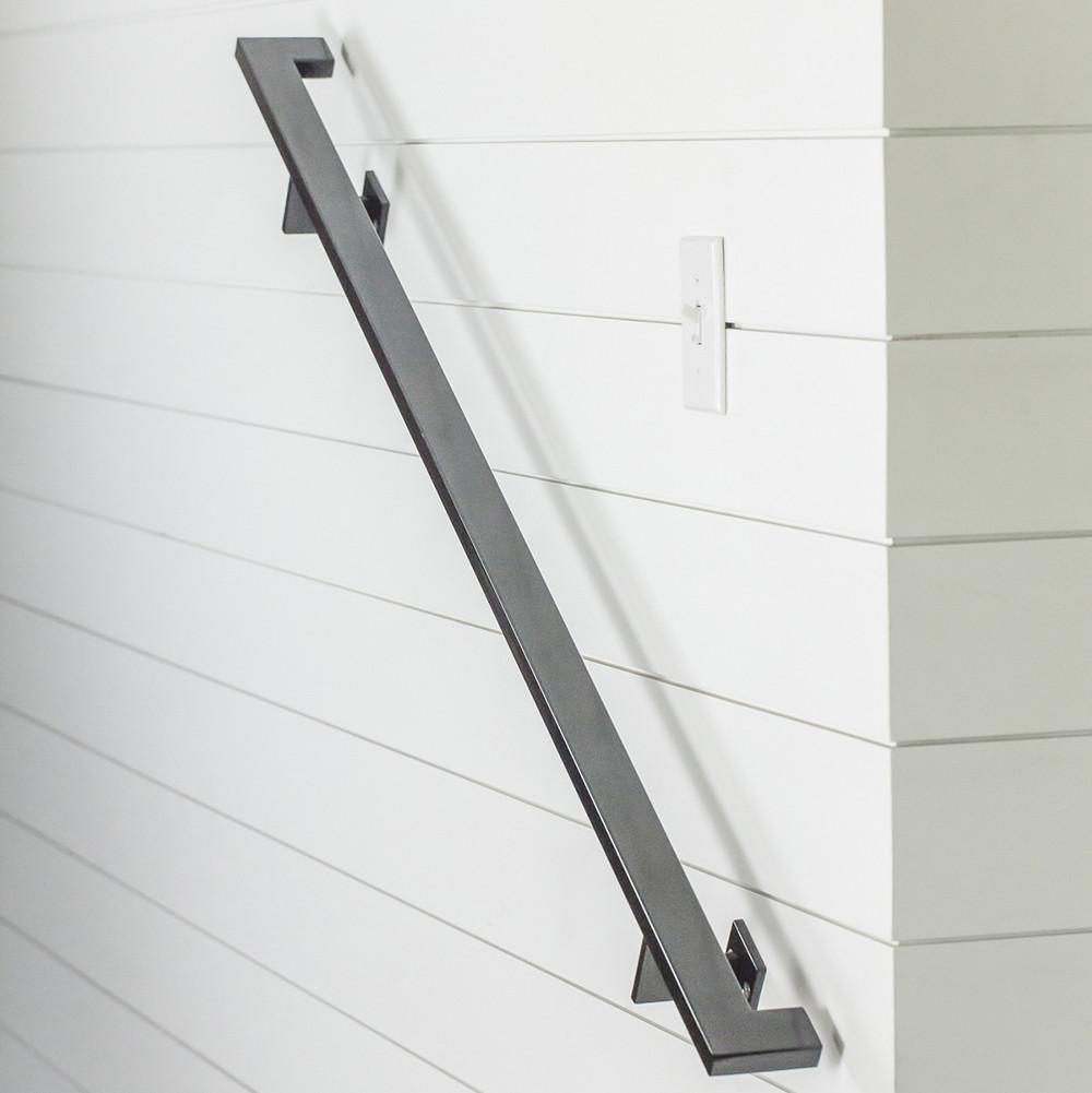 Best Modern Handrail 15 16 Foot 6 Brackets In 2020 Wall 400 x 300