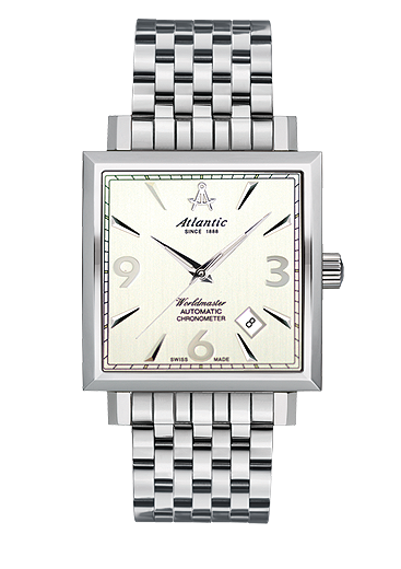 Worldmaster Square Gents Automatic COSC certificate 54756