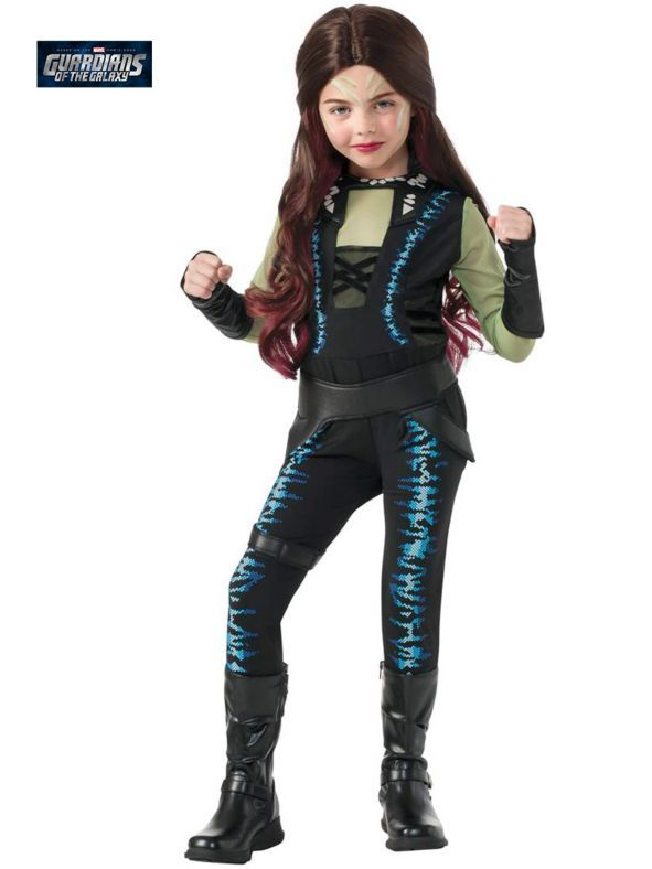 Girls Gamora Costume | Wholesale Guardians of the Galaxy ...