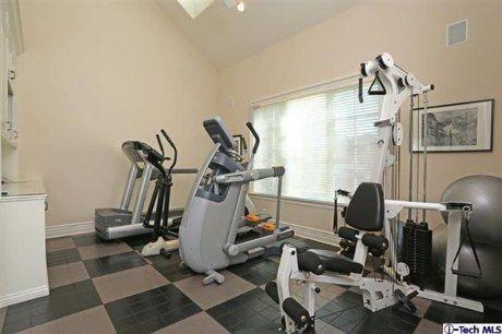 4321 Chula Senda Lane, La Canada Flintridge-Gym