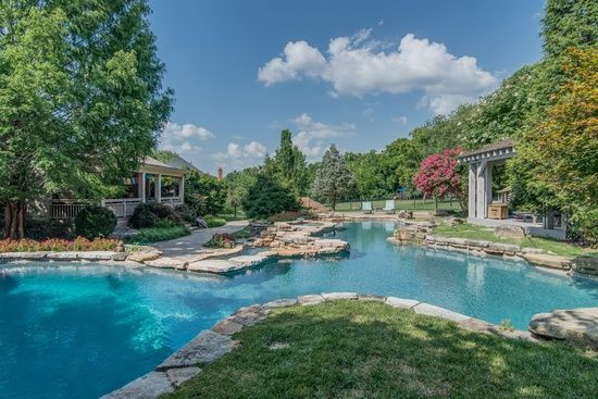 1414 Arrowhead Dr Brentwood Tn 37027 Now That 39 S A Pool Beautiful Homes Pinterest Backyard