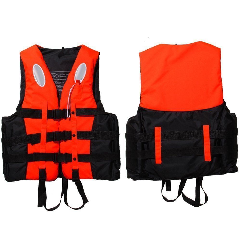 Tbest Children and Adult Life Jacket Life Vest,Buoyancy Aid Universal Swimming Boating Kayaking Drifting Ski Vest with Whistle