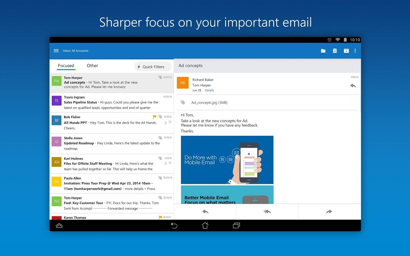 Microsoft Outlook For Android And iOS Gets New Address