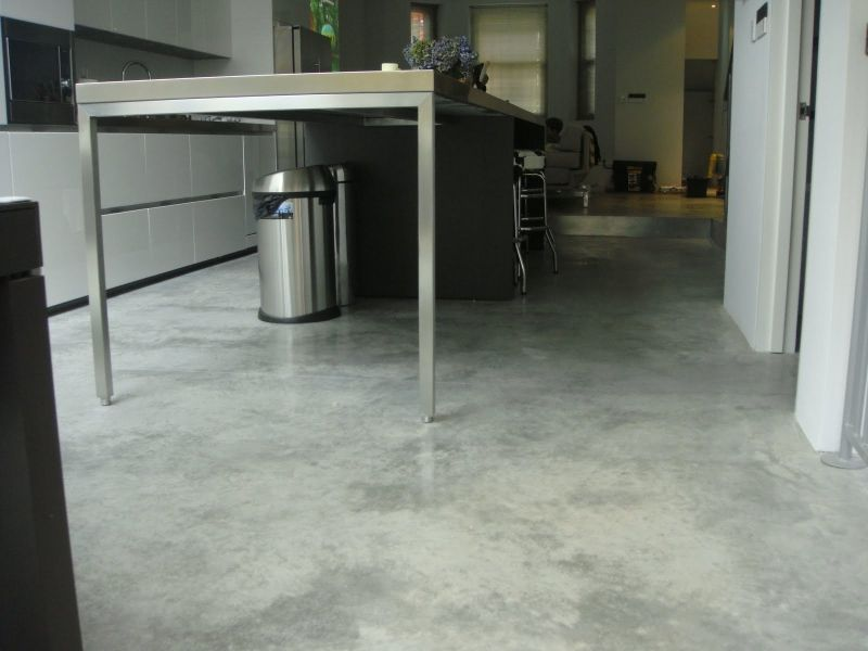 Natural Float Concrete Floors