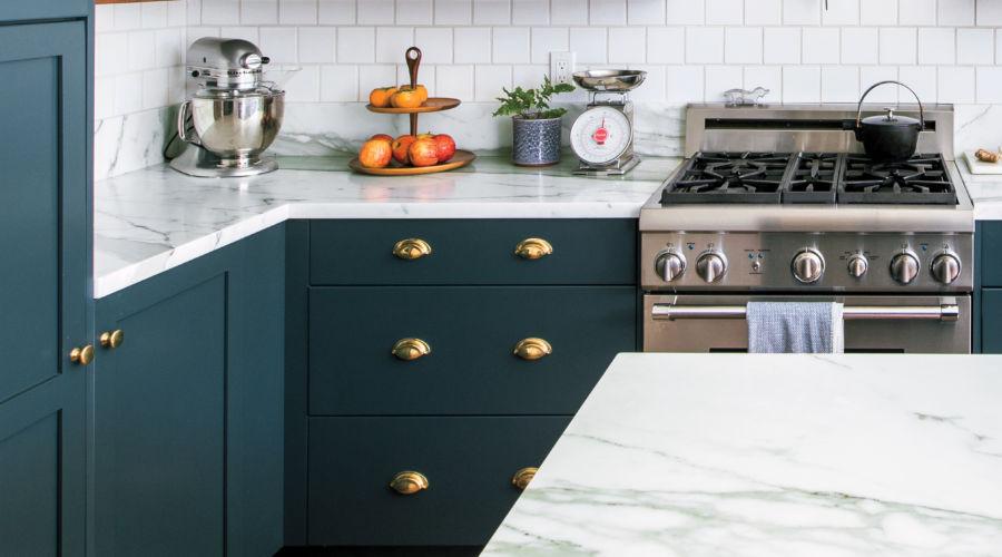 Green Cabinets Make This Edwardian Kitchen Renovation ...