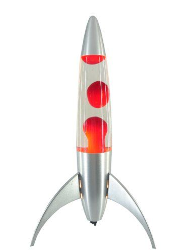 "Lava Lamps Amazon Captivating Amazon  Retro Rocket Lava Lamp Huge Red 18"" Glow Motion Party Design Ideas"