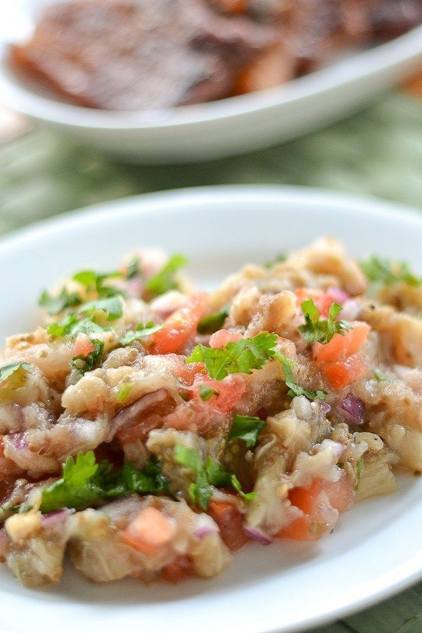 Auberginensalat nach philippinischer Art   - Yummy Salads and Veggies -