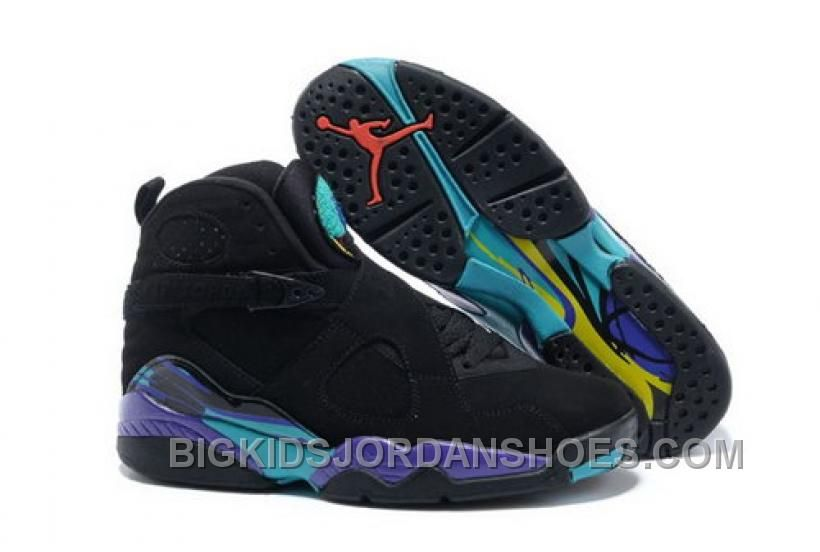 new styles cbf01 60c54 Find Air Jordans 8 Retro Black Dark Concord-Anthracite-Aqua Tone New  Release online or in Pumaslides. Shop Top Brands and the latest styles Air  Jordans 8 ...