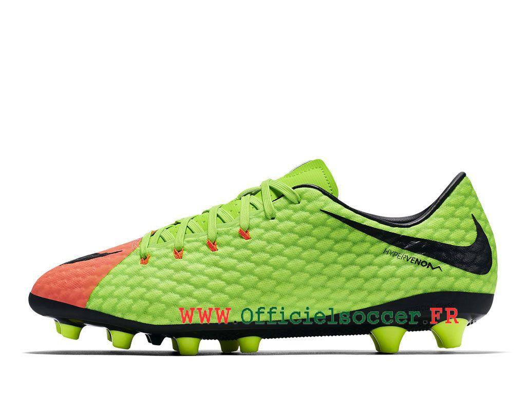 new style bb212 3537a Nike Hypervenom Phelon 3 AG-PRO Chaussure de football à crampons pour  terrain Homme Noir