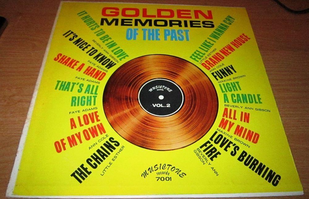 196? Doo Wop Soul Lp GOLDEN MEMORIES OF THE PAST Vol 2 On Musictone 7001  #DooWop #ClassicR&B #Motown #Soul