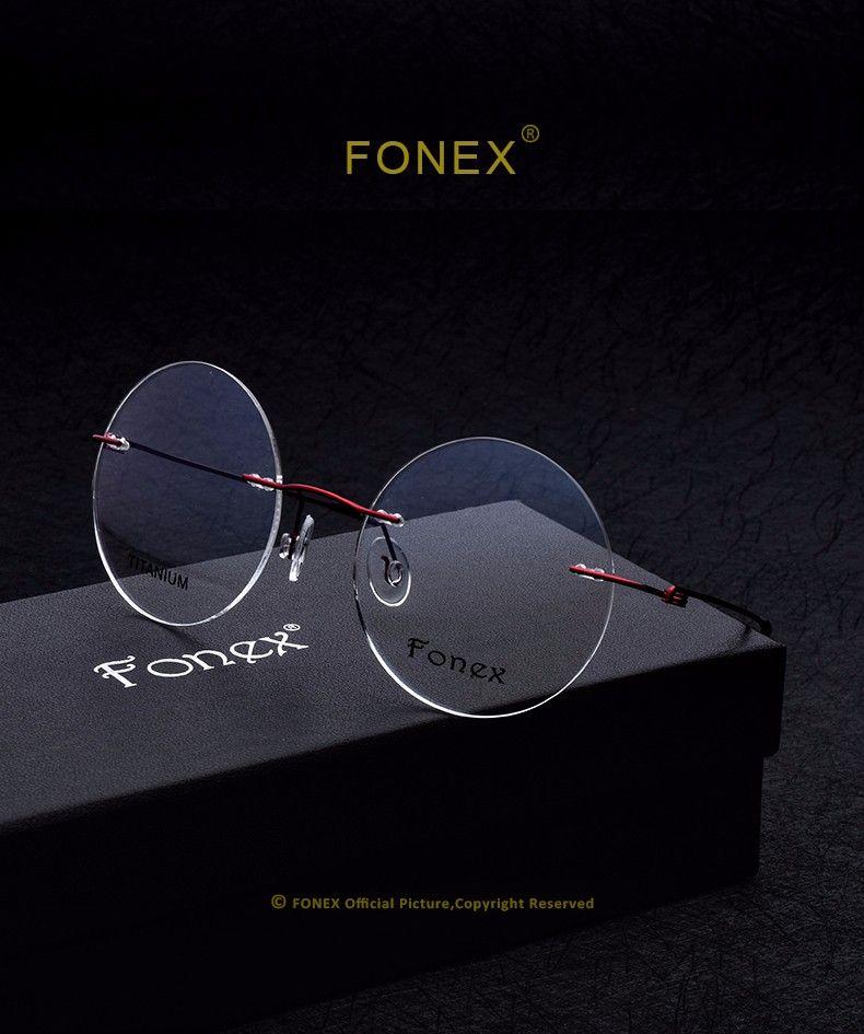da2a8473683eb fonex-brand-designer-women-fashion-luxury-titanium-round-glasses-eyeglasses -eyewear-computer-myopia-silhouette-oculos-de-sol-with-original-box-F10010-  ...