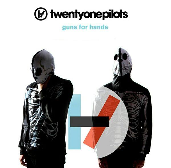 Twenty One Pilots – Guns for Hands (single cover art)