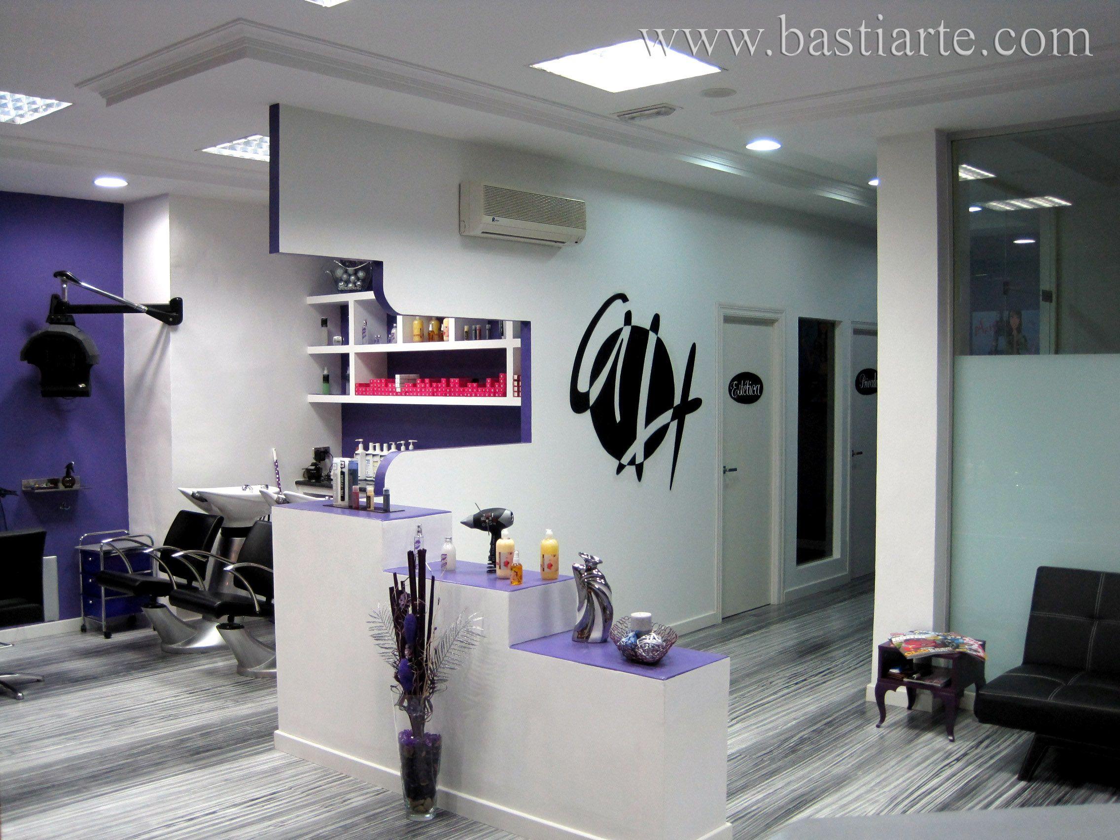 Peluquerias de dise o espacios peluquer as pinterest - Ideas para decorar una peluqueria ...