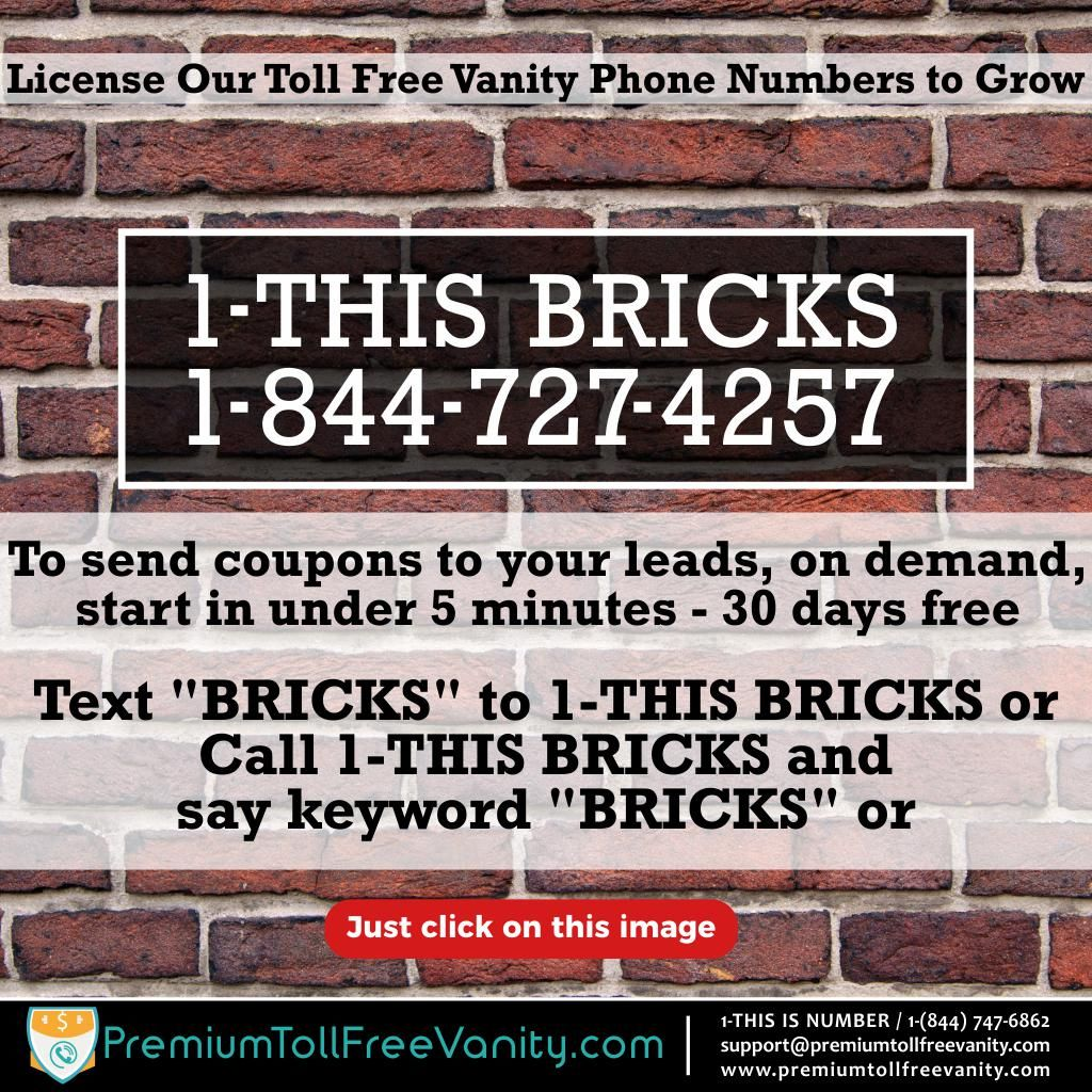 Pin By Premium Toll Free Vanity Numbers On Construction Vanity