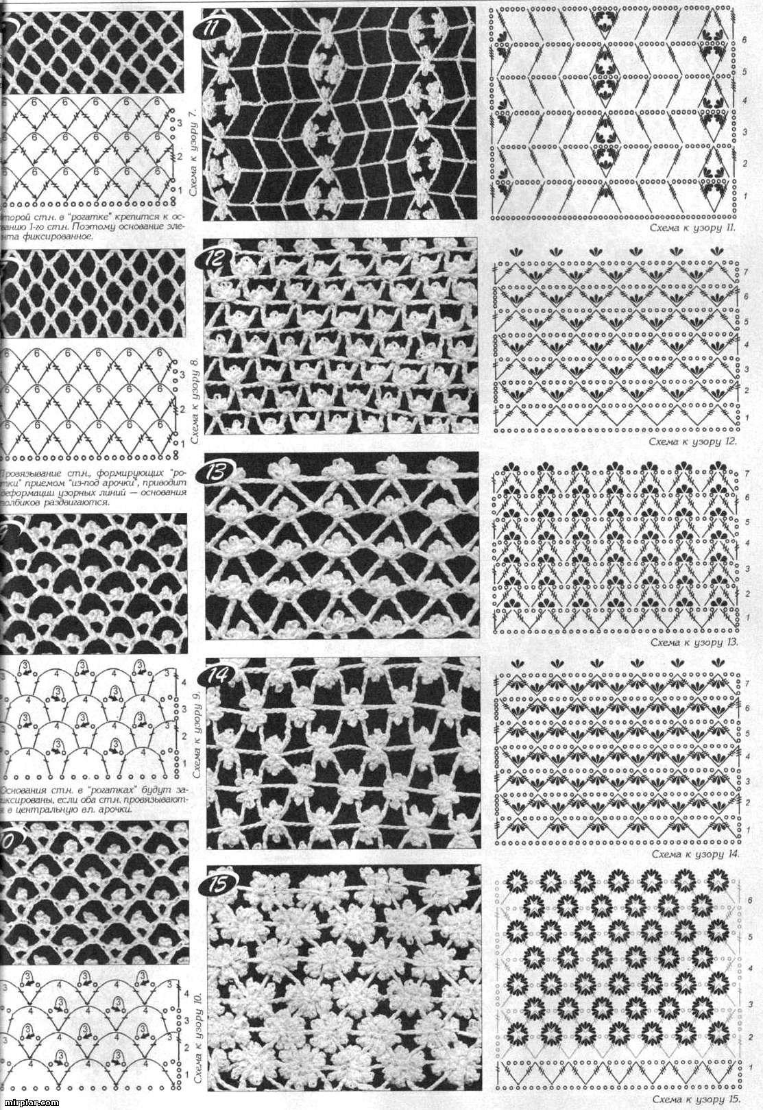 Радикал-Фото: Картинка - http://mirpiar.com/ | crochet pattern ...