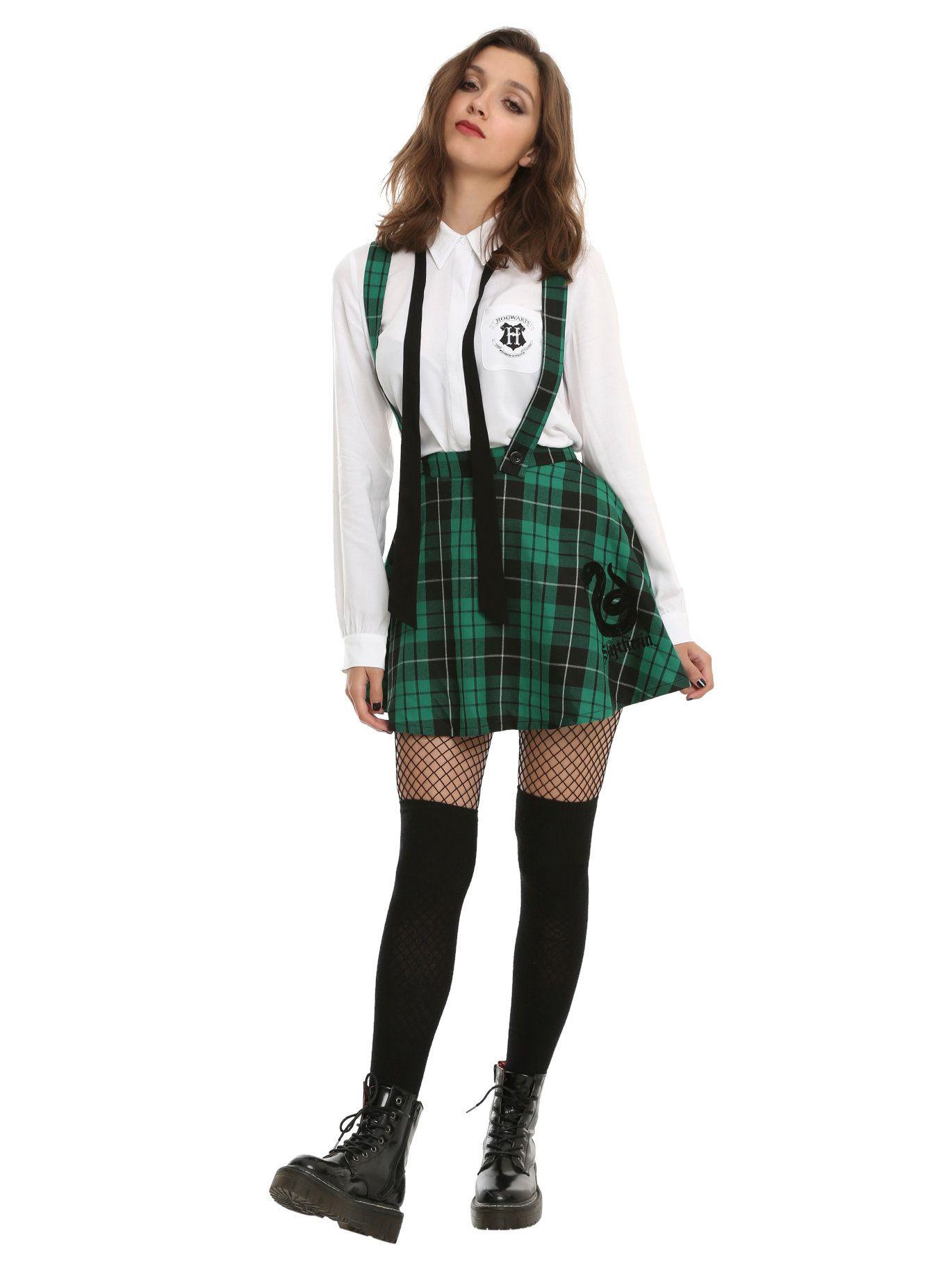 eb8eb2dc02 Harry Potter Slytherin School Skirt in 2019 | Halloween | Harry ...