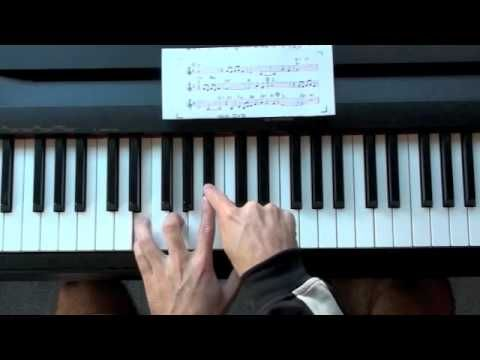 ▷ Summertime Jazz Piano Lesson - Stride and Blues Scale