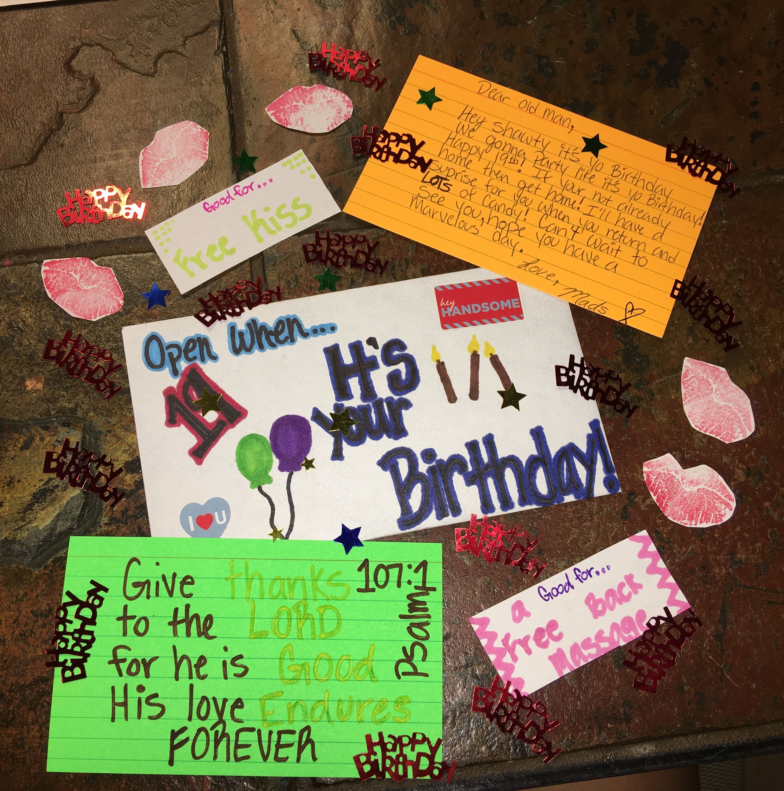 what to ask for your birthday from your boyfriend