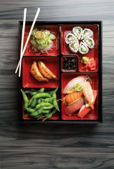 Food Porn: Sushi lunch box at ZenCha | Columbus Crave