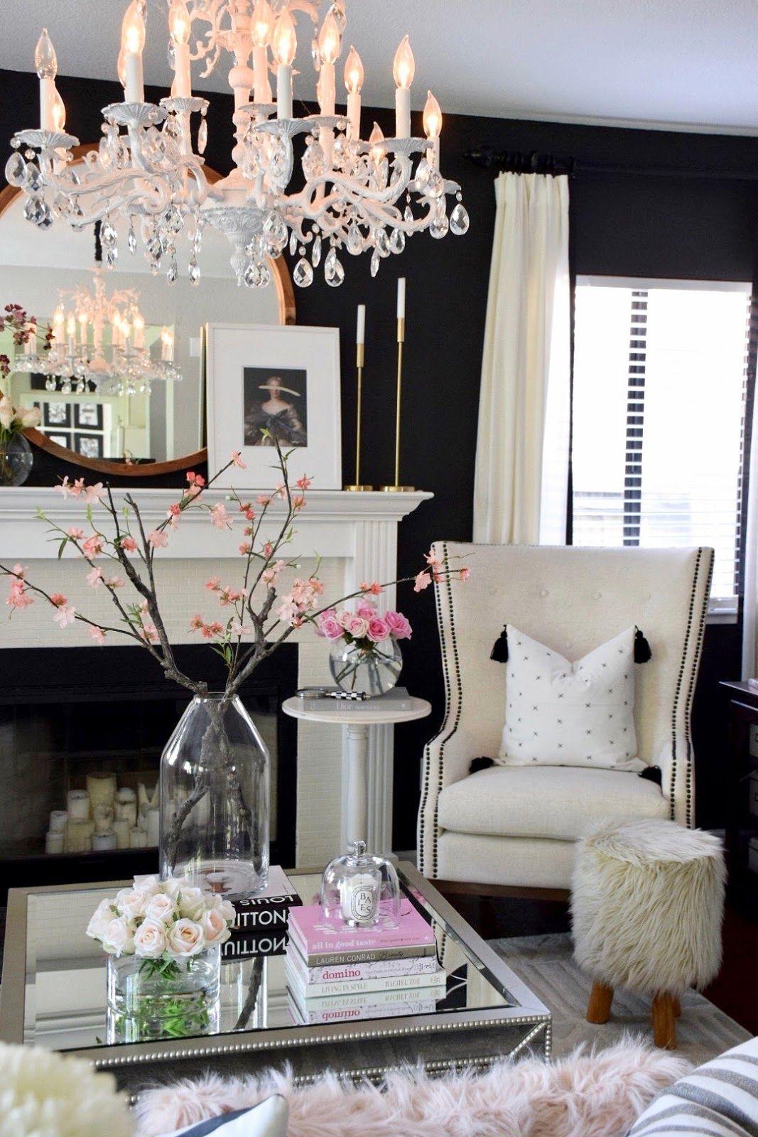 Home And Fabulous 2018 Spring Home Tour Elegant Living Room Decor Home Decor Decor Home goods decor for living room pics