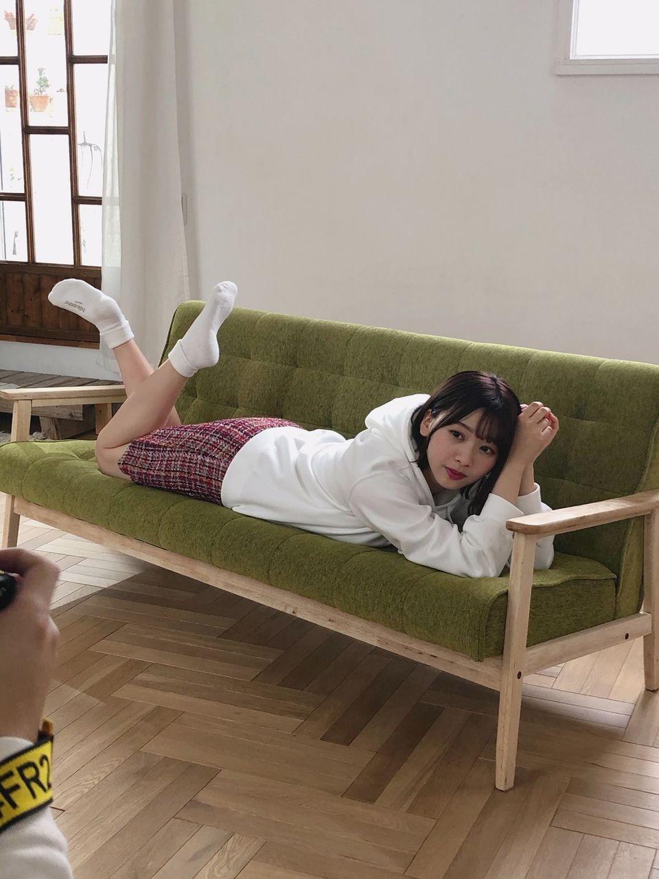 富田 鈴花 公式ブログ 日向坂46公式サイト セクシー靴下 富田 フリルソックス