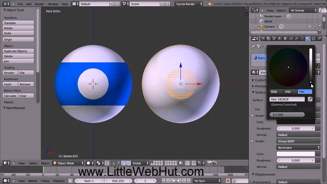 Blender tutorial for beginners pool balls blender video effects blender tutorial for beginners pool balls baditri Image collections