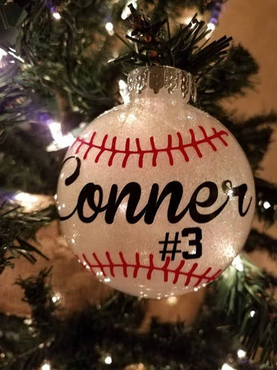 Baseball Ornament Personalized | From # ...