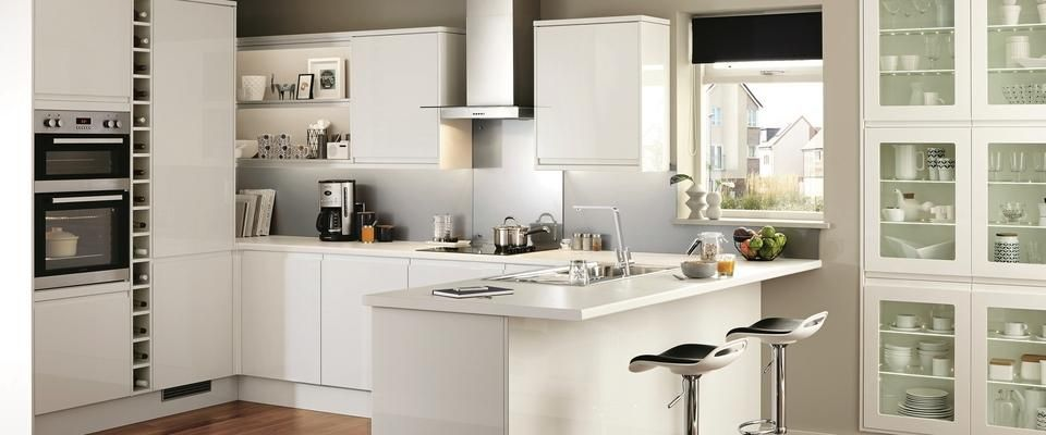 High Gloss And Integrated Handles Give The Clerkenwell Kitchen Range A  Sleek And Modern Look. Perfect For Your Contemporary Kitchen Design.