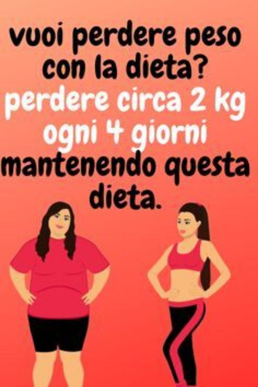 dieta 4 giorni
