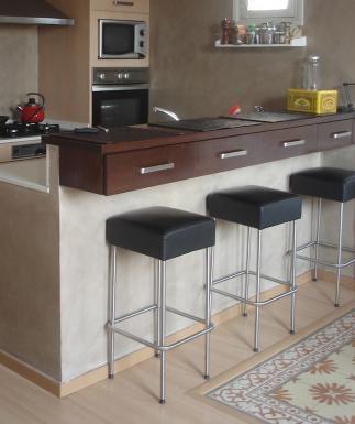 Se vende taburetes acero inox y piel IKEA SEGUNDA MANO ...