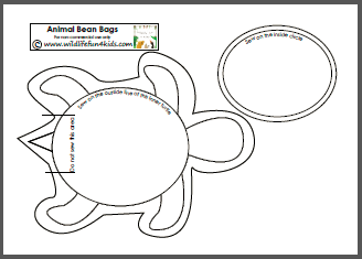 bean bag sewing template- use this idea, but with cupcake