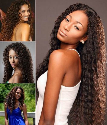 Stunning Clip On Extensions For Black Hair Remy Reviews Extension Before