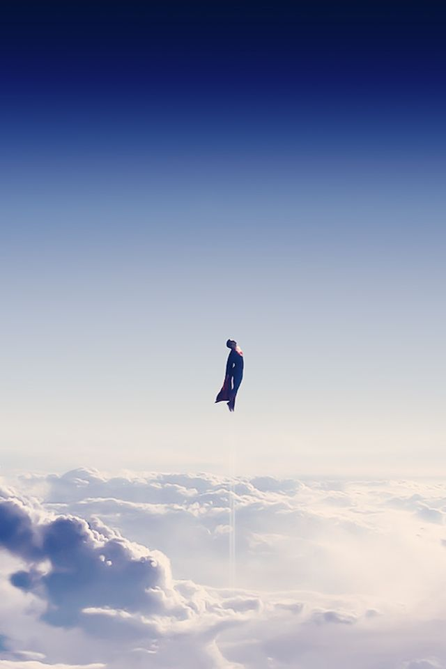 Man Of Steel Find More Nerdy IPhone Android Wallpapers And Backgrounds At Prettywallpaper