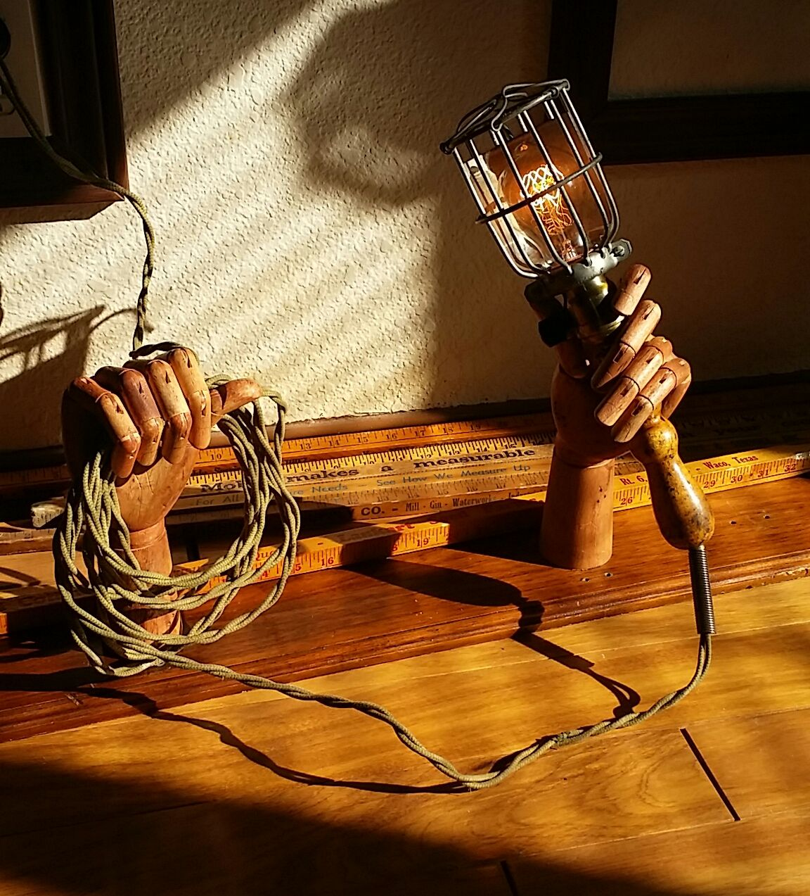 Collier Steampunk Hand-Free Lamp