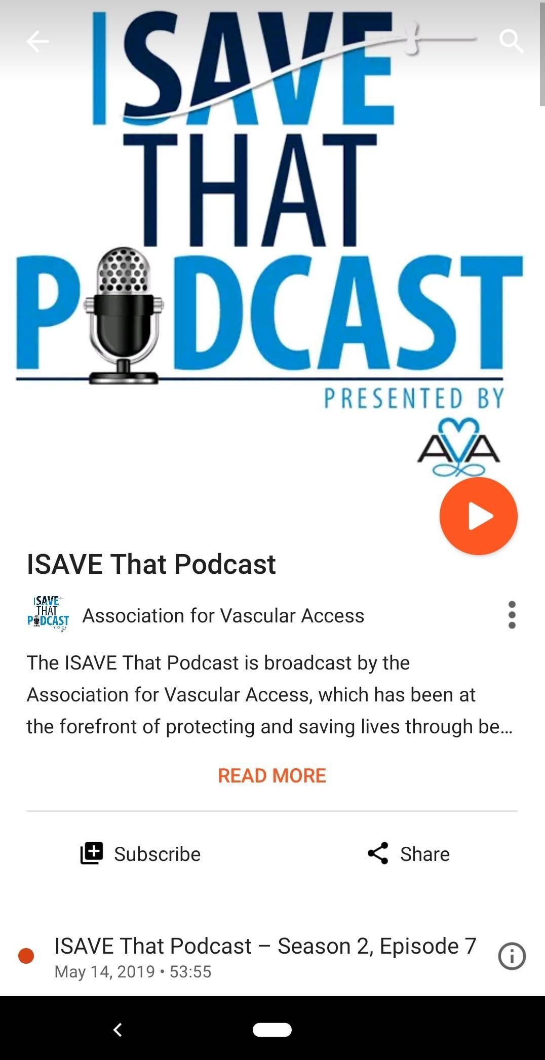 The ISAVE That Podcast is now available on Google Music