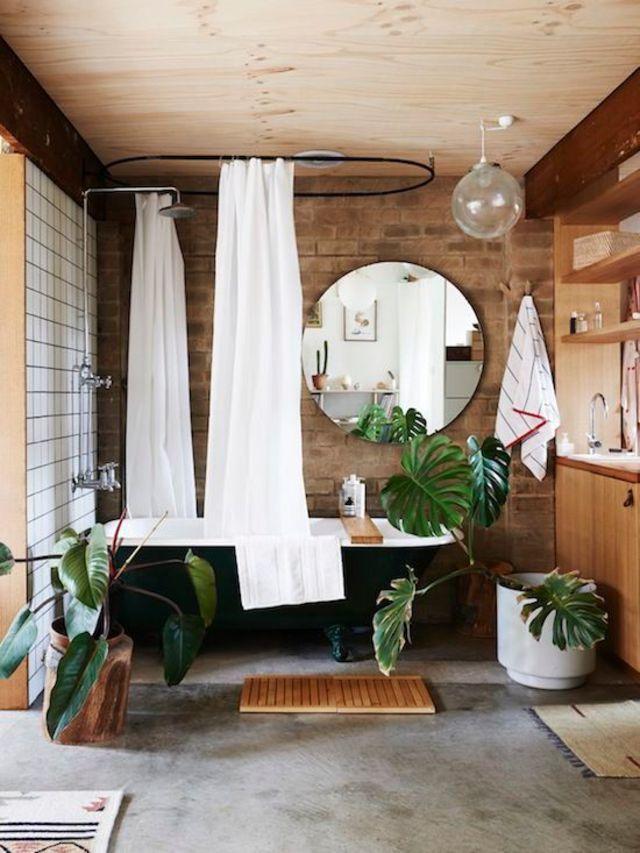déco salles de bains  des sols au top Interiors, Bath and House