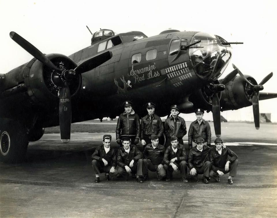 Screamin Red Ass Bomber Wwii