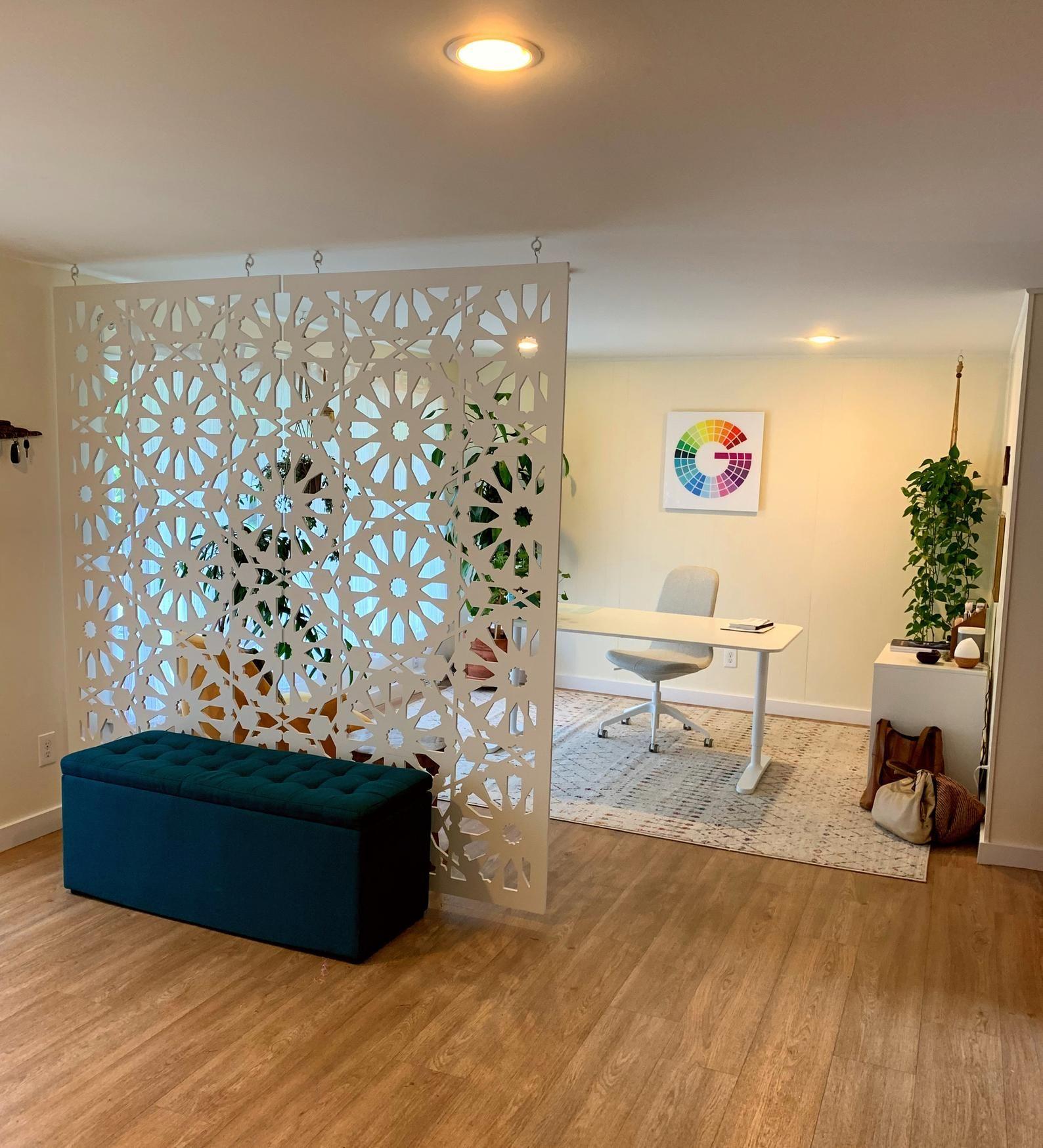 Room Divide Room Divider Custom Divider Screen Panels Etsy In 2021 Decorative Room Dividers Room Partition Designs Walls Room