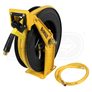 Dewalt Dxcm024 0344 Open Double Air Hose Reel 1 2 Inch X 50 Air Hose Reel Hose Reel Air Hose