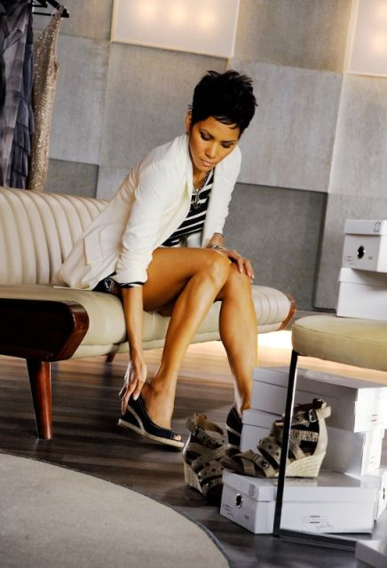 Halle Berry Shoe Collection