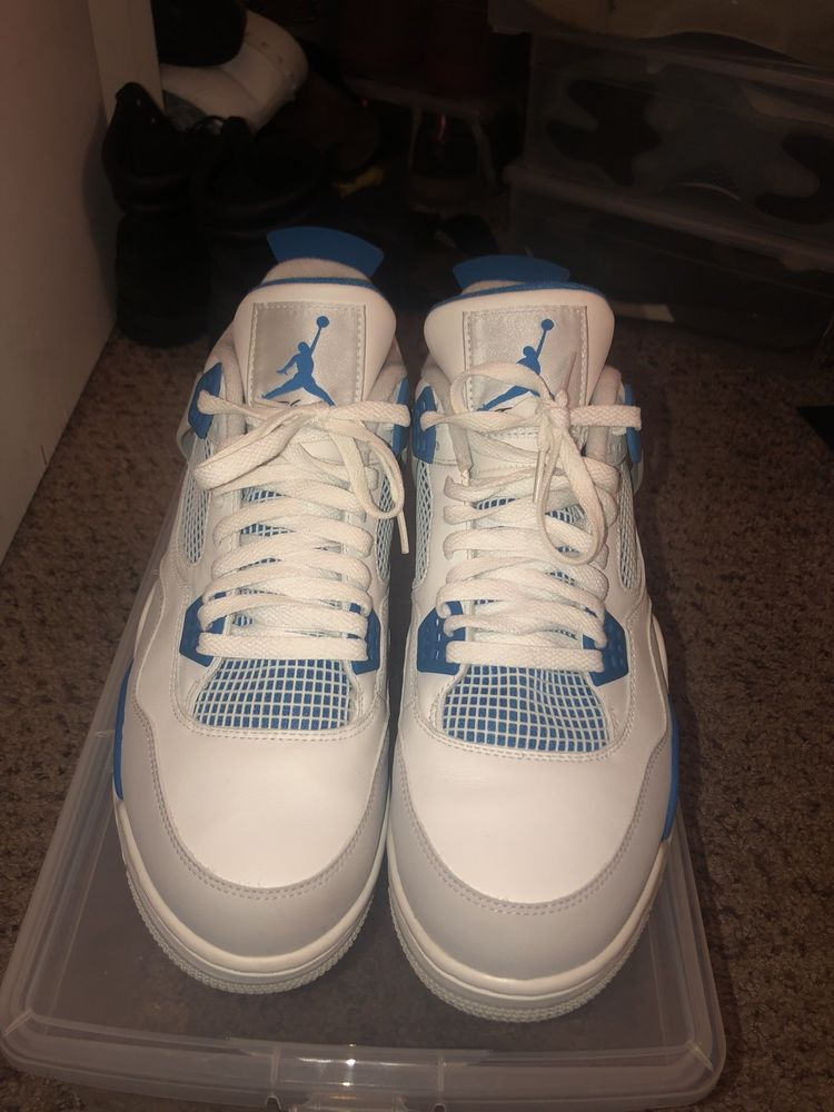 air jordan retro 4 military blue size 13 Throw Me A Offer  fashion   clothing  shoes  accessories  mensshoes  athleticshoes (ebay link) 887674bac