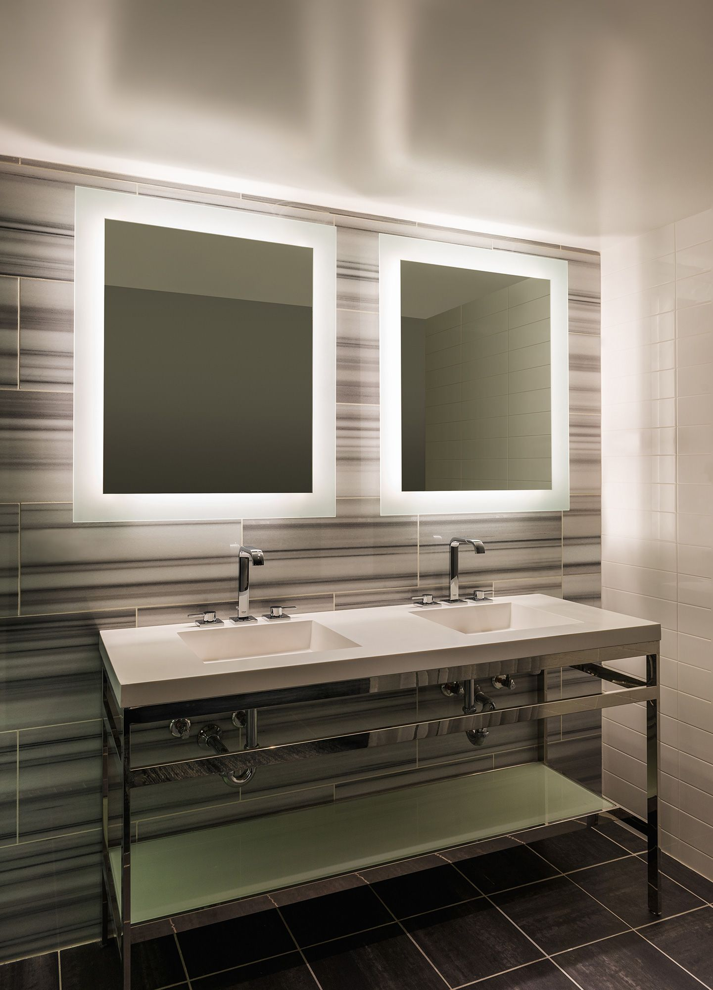 Sail Surface Mount LED Mirror | Bathroom | Pinterest | Led mirror ...