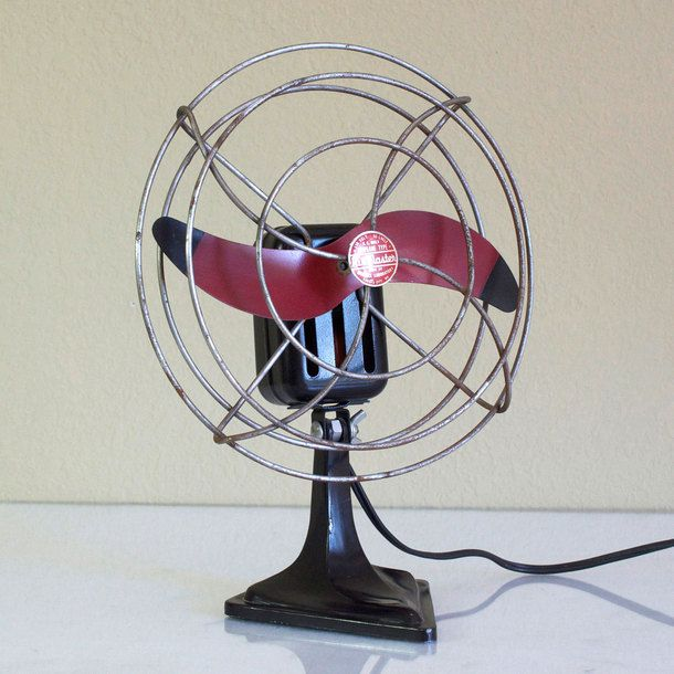 Air Master Airplane Blade Fan | My Style | Antique fans, Vintage