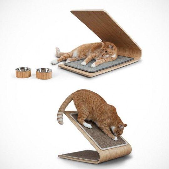 griffoir pour chat planche griffer en bambou astoria appartement pinterest griffoir. Black Bedroom Furniture Sets. Home Design Ideas