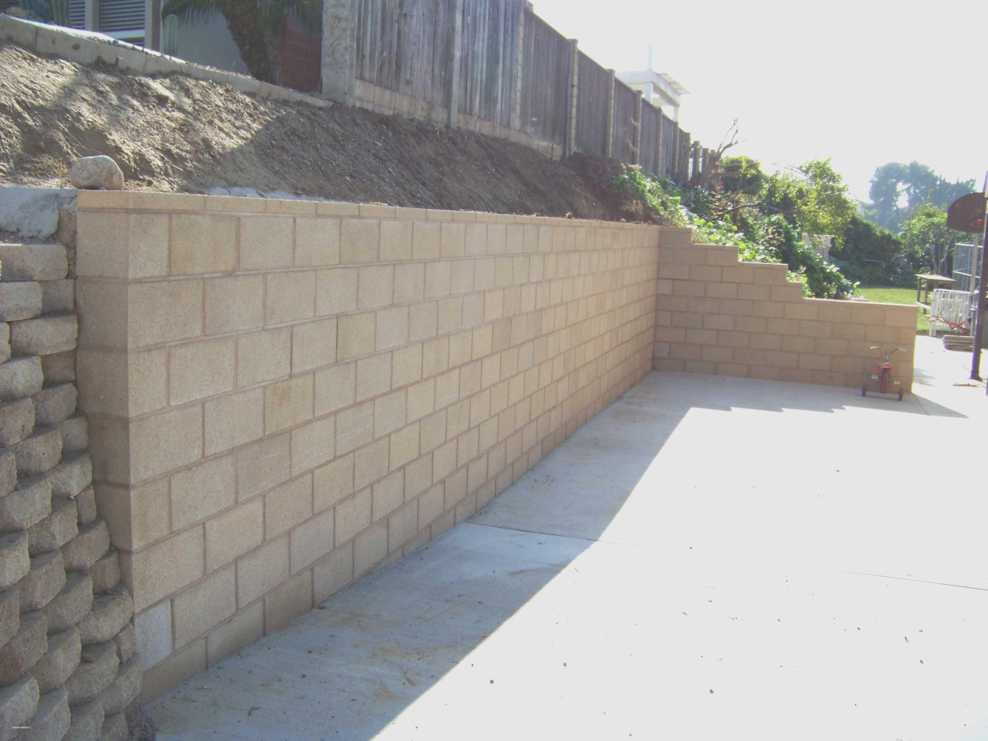 Unique Concrete Retaining Wall Ideas Cement Landscape Design
