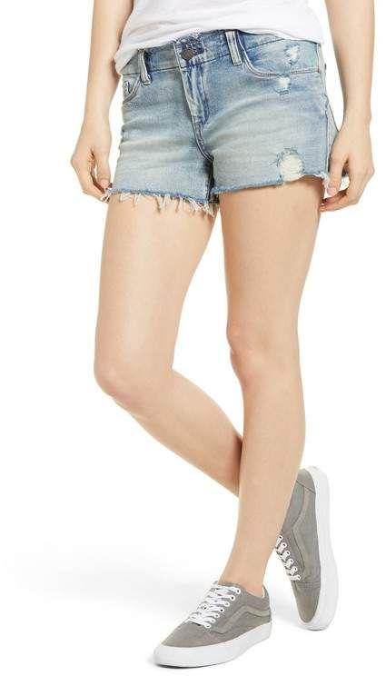 The Astor Distressed Cutoff Denim Shorts (Unsung Hero) #denimcutoffshorts