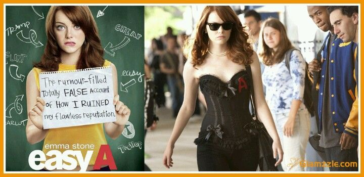 Emma Stone Scarlet Letter.Easy A Is A Modern Day Version Of The Scarlet Letter Which I Read