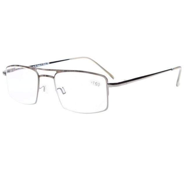 b8d25069db46 R15012 Eyekepper Spring Hinges Reading Glasses with Temple Clip Readers  0.5 0.75 1.0 1.25 1.5 1.75 2.0 2.25 2.5 2.75 3.0 3.5 4.0 Review